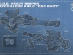Heavy Sniper Rifle: One Shot