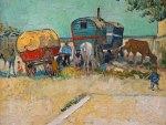 Vincent Van Gogh ~ The Caravans Gipsy Camp near Arles