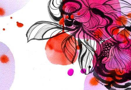 Pintura - abstrato, tinta, pintura, bonito