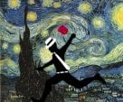 Paint Runner (Starry Night) 2