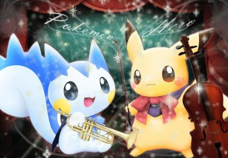 Pokemon Band - cute, song, music, band