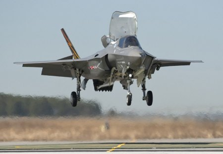 AVion F35 - f35, military, aircraft, airfield