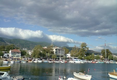 ALTINOLUK ,TURKEY - at the seaside, turkey, altinoluk, a beautiful scene from altinoluk, a seaside view