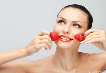 Strawberry Cheeks. - nice, at, a, of