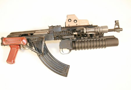 Assault Rifle - gun, assault, rifle, ak