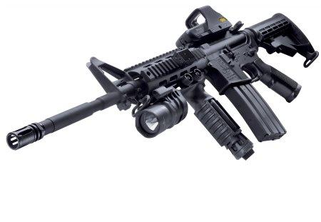 Rifle - fire, gun, shot, rifle