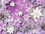 Lavender Flower Scatter