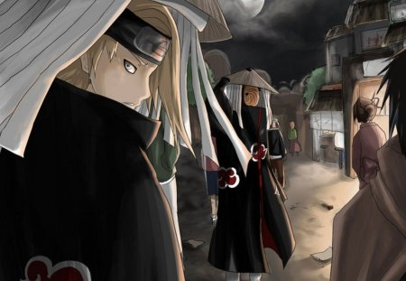 Akatsuki on the search - for, naruto, akatsuki, searching
