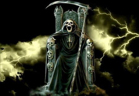Grim Reaper Laughing Funny Entertainment Background Wallpapers On Desktop Nexus Image 109483