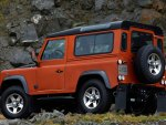 Land Rover Defender Fire 2009