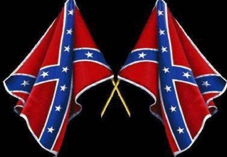 2 Rebel Flags - grace, southern, rebel, dixie