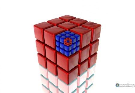 Cubo - cubo, formas, abstrato, 3d, cubos