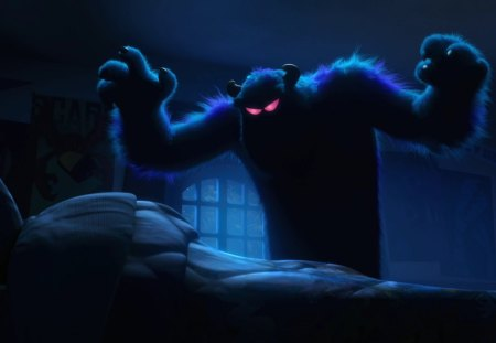 Monster - monster, movie, inc, university