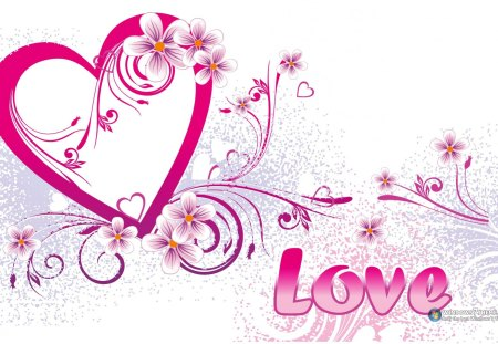 Amor - rosa, flores, coracao, amor