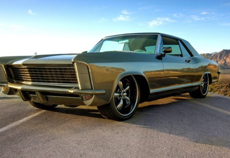 Buick Riviera - 1965, buick, green, car
