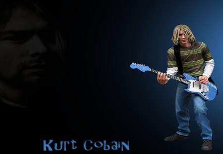 Kurt Cobain Wallpaper Music Entertainment Background