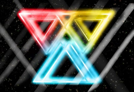 Space Triangles