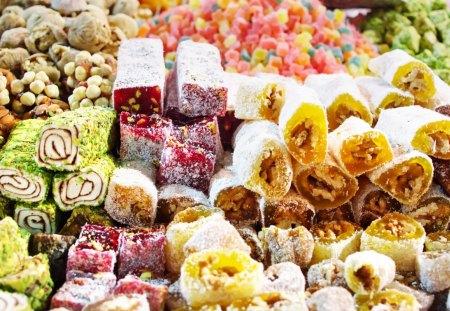 Turkish Sweets - turkish, chocolate, candy, sweet