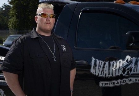 Ron Shirley - ron shirley, ron, repo, lizard lick, photography, lizard, towing, bobby brantley, tow truck, shirley, country, tv, brantely, bobby, series, amy shirley, awesome, photoshop, recovery, ron and amy shirley