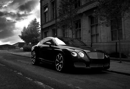 Kahn Bentley - kahn, tuned, bentley, rims, dark, black