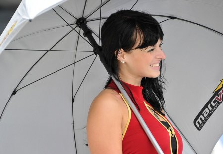 Brolly Dolly - silverstone, motogp, brolly, dolly
