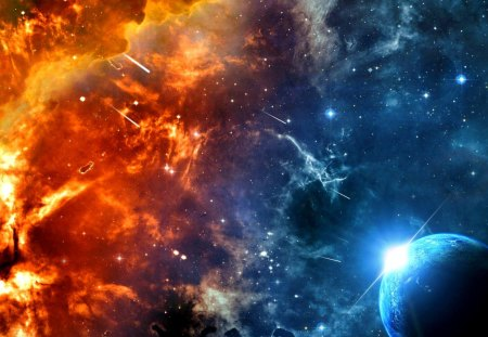 Space Hell Other Space Background Wallpapers On Desktop