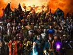 All characters in the game Mortal Kombat