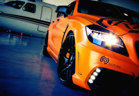 Car Orange - laranja, carro, orange, car, tuning