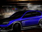 Car Blue Modify