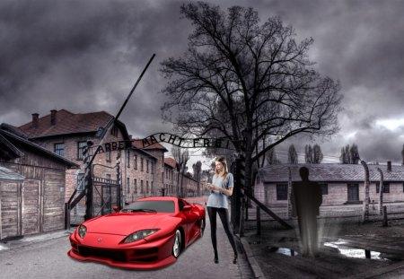 Need Help? - help, need help, city, girl, wahab hameed, car, smart aleck, need
