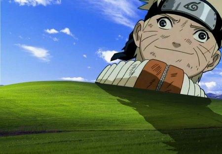 U mad bro? - crazy, mad, funny, windows, ninja, shinobi, naruto, leaf, funny naruto