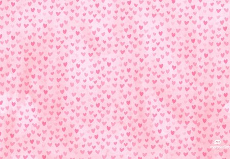 Tiny hearts background - pink, hearts, tiny, background