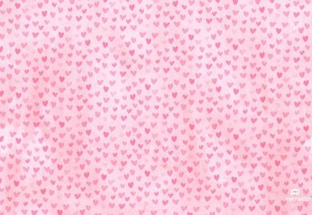 Tiny hearts background - pink, hearts, tiny, background