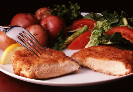 CHICKEN BREAST - fast, food, hot, nice, taste