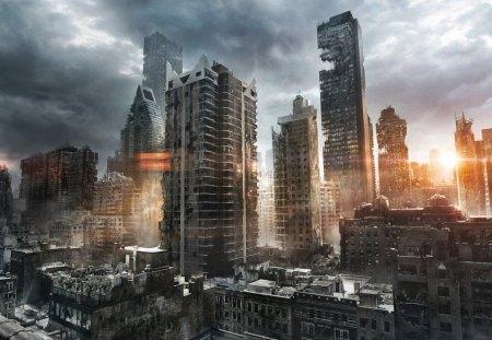 The ruin - cg, 28, 06, 2012, picture, ruin
