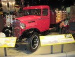 1935 Maple Leaf truck at the museum Made in Canada