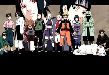 Naruto And His Friends