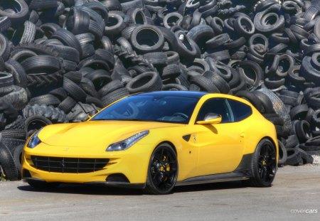 Ferrari FF Novitec Rosso - novitec, ff, rosso, cars, ferrari