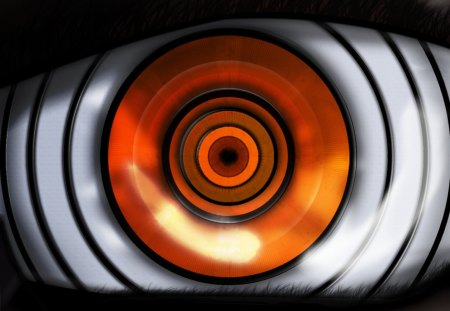 Rinnegan - anime, eye, naruto shippuuden, orange eyes, rinnegan