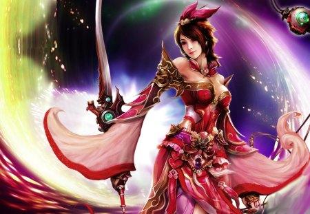 GRACEFUL WARRIOR - beauty, dynasty, art, warrior