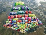 Parachute Pyramid