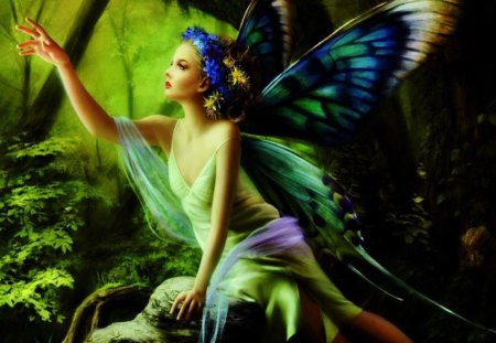 Forest Fairy - Fantasy & Abstract Background Wallpapers on Desktop ...