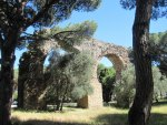 Aquaduct in Frejus, France