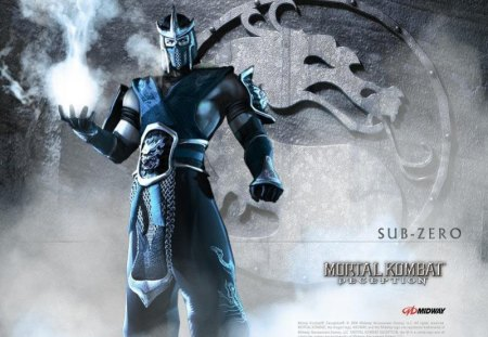 Sub Zero Mortal Kombat Video Games Background Wallpapers On