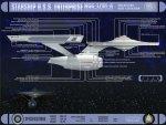 Star Trek - Starship USS Enterprise - Side