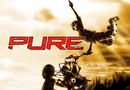 Pure - sprint, race, pure, atv, off road racing, freestyle