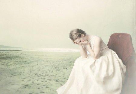 Lost - fantasy, fairy, girl, lost, sad