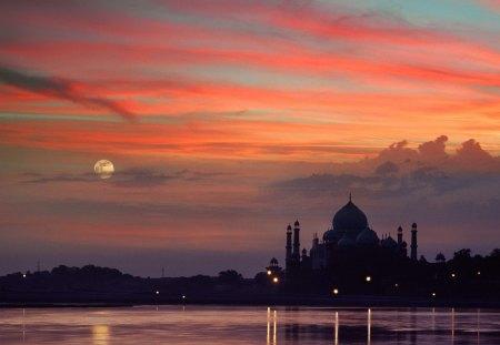Cidade da india - ceu, cidade, natureza, india