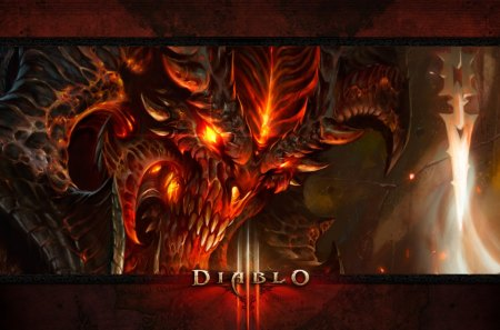 Diablo 3 - video games, diablo, 3