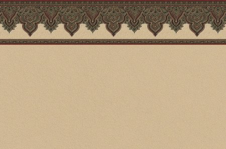 Arabesque Top Border 1 - wallpaper border, illustration, computer graphics, art, artwork, wide screen